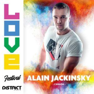Alain Jackinsky - 2018-08-18 - Love Festival - District - Montreal